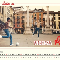DIESEL CALENDARIO 2019 CON IL VICENZA CALCIO
