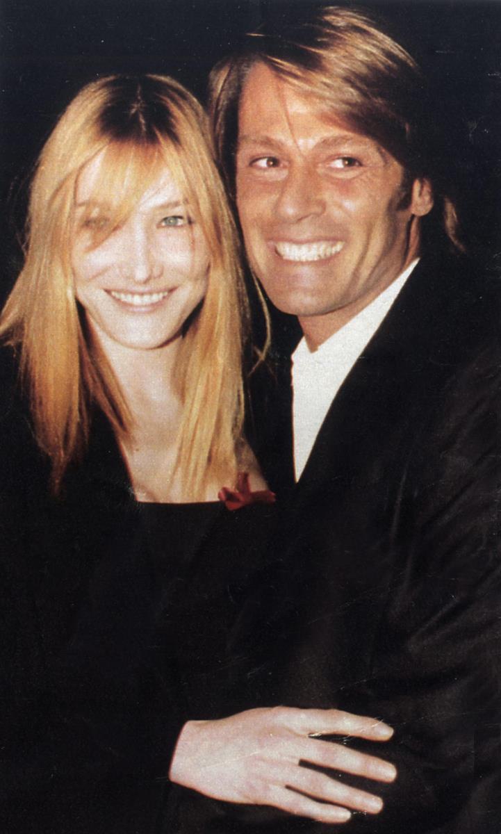 Piero Piazzi e Carla Bruni (ph. Stefano Guindani)
