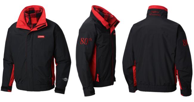 columbia sportswear 80 limited edition anniversary