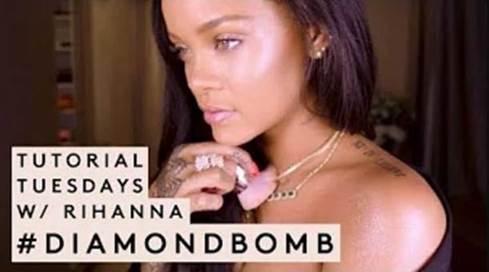 rihanna fenty beauty video tutorial