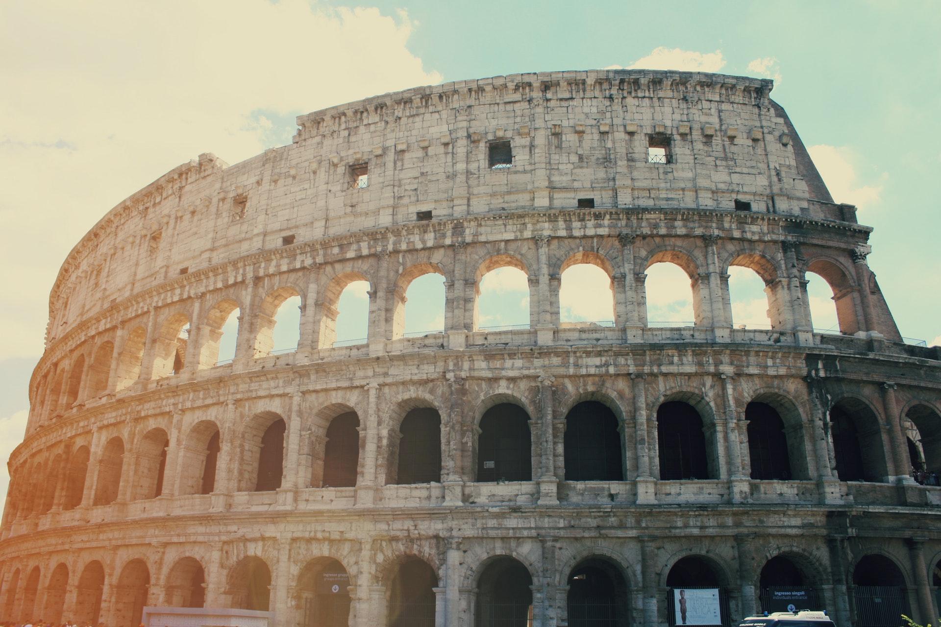 roma sfilata moschino