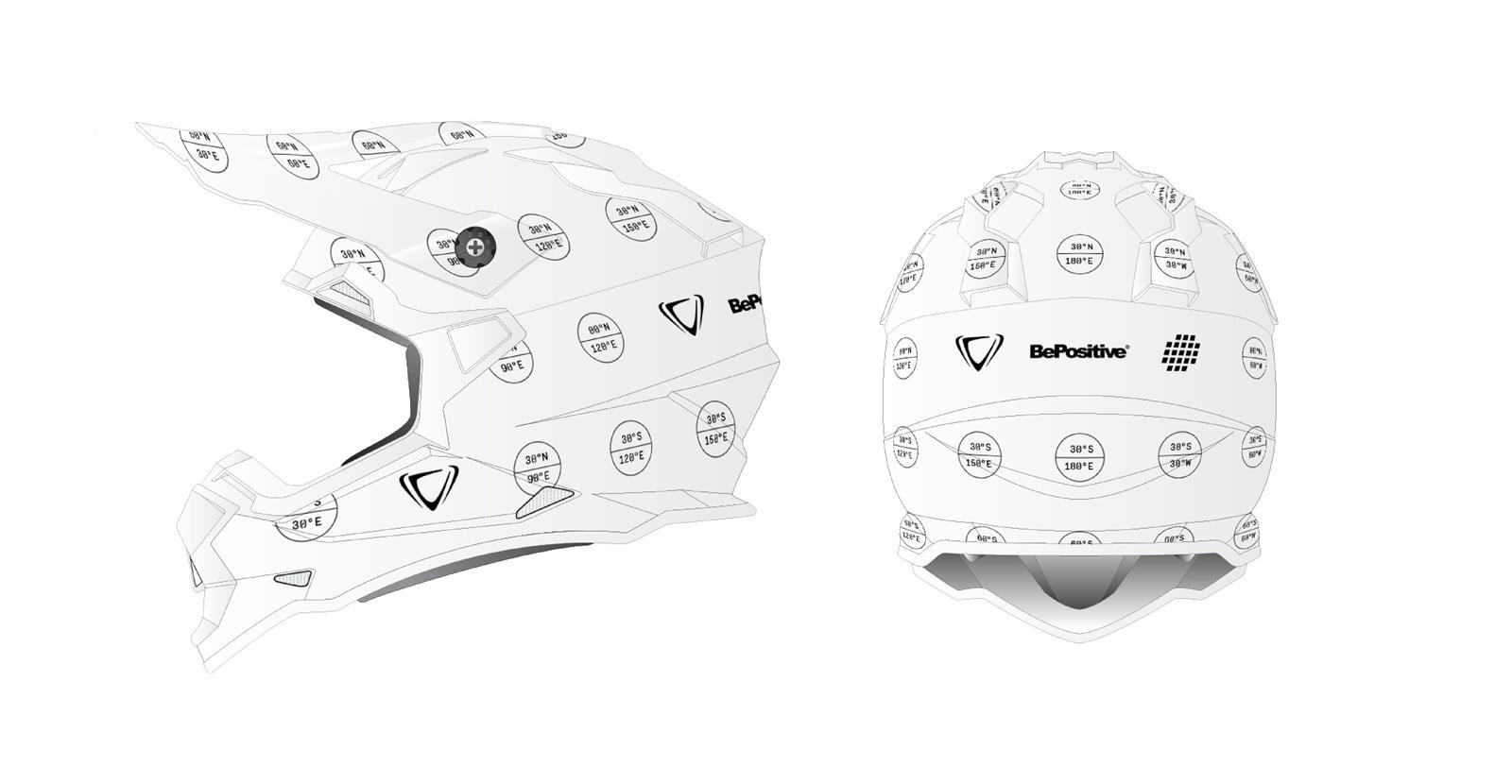 casco moto alla moda