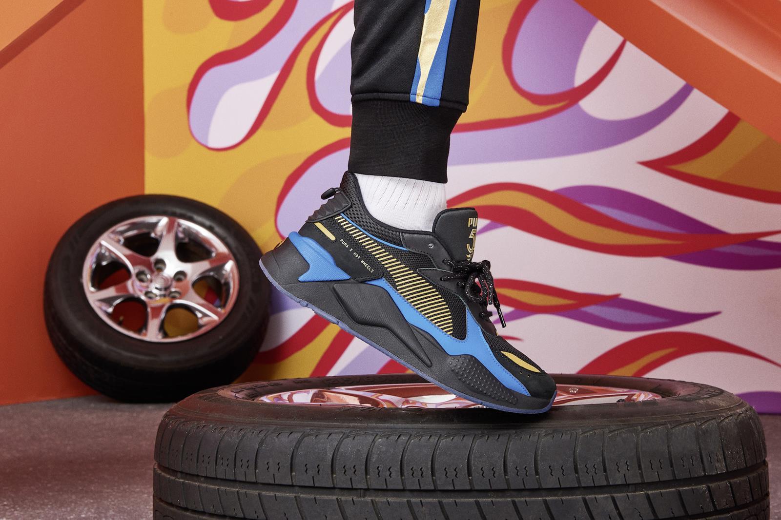 scarpe puma hot weels. Puma fonde il nuovo design della sneaker RS-X con ... 2f907f49b2e