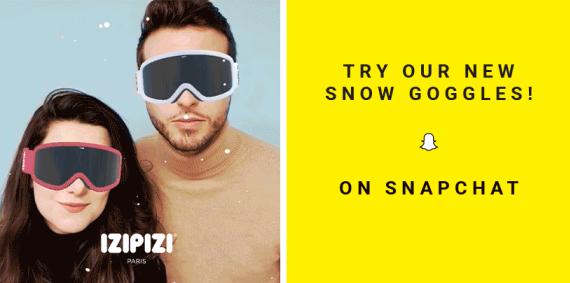 IZIPIZI filtri snapchat facebook