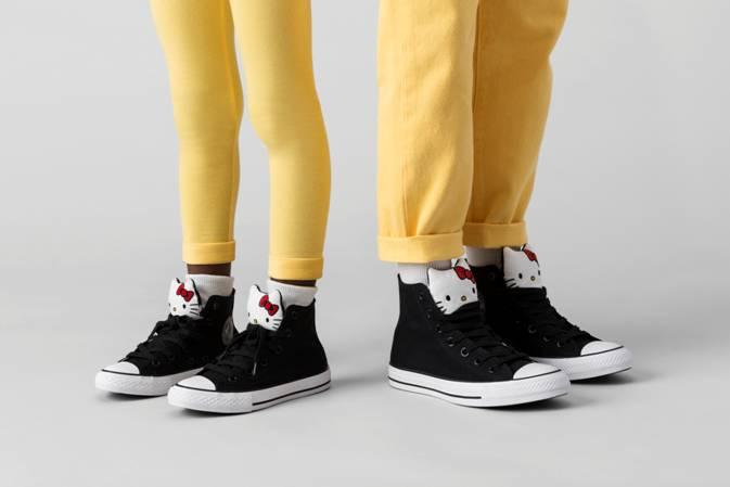 hello kitty collezione converse scarpe