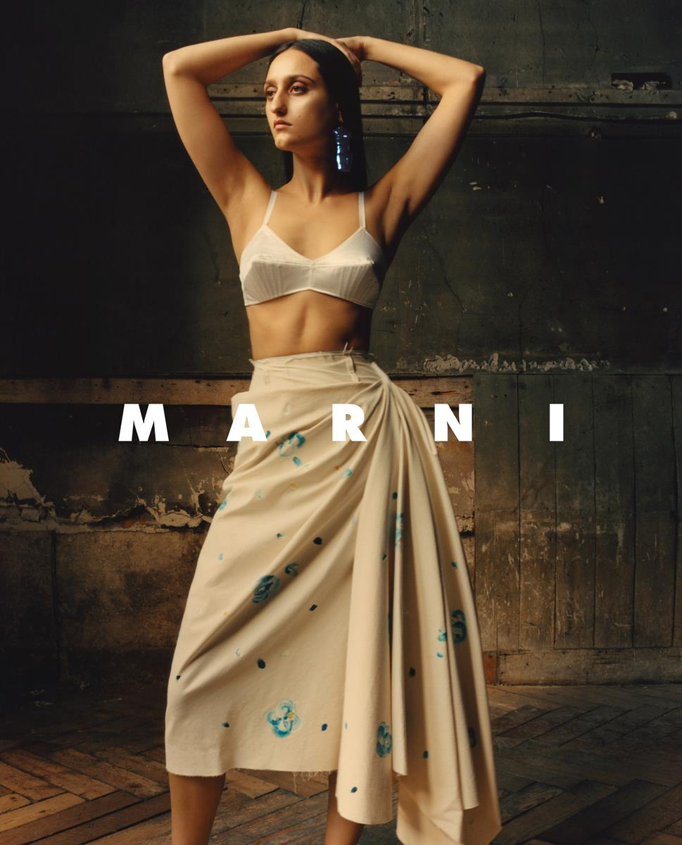 jess maybury model femminist creative for marni campaign