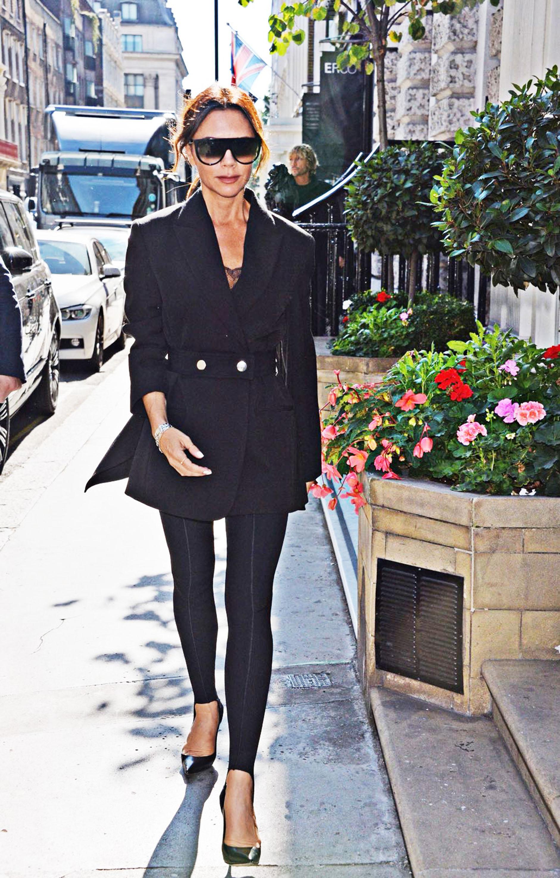 Victoria Beckham street style