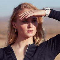 louis vuitton new tambour sophie turner justin theroux