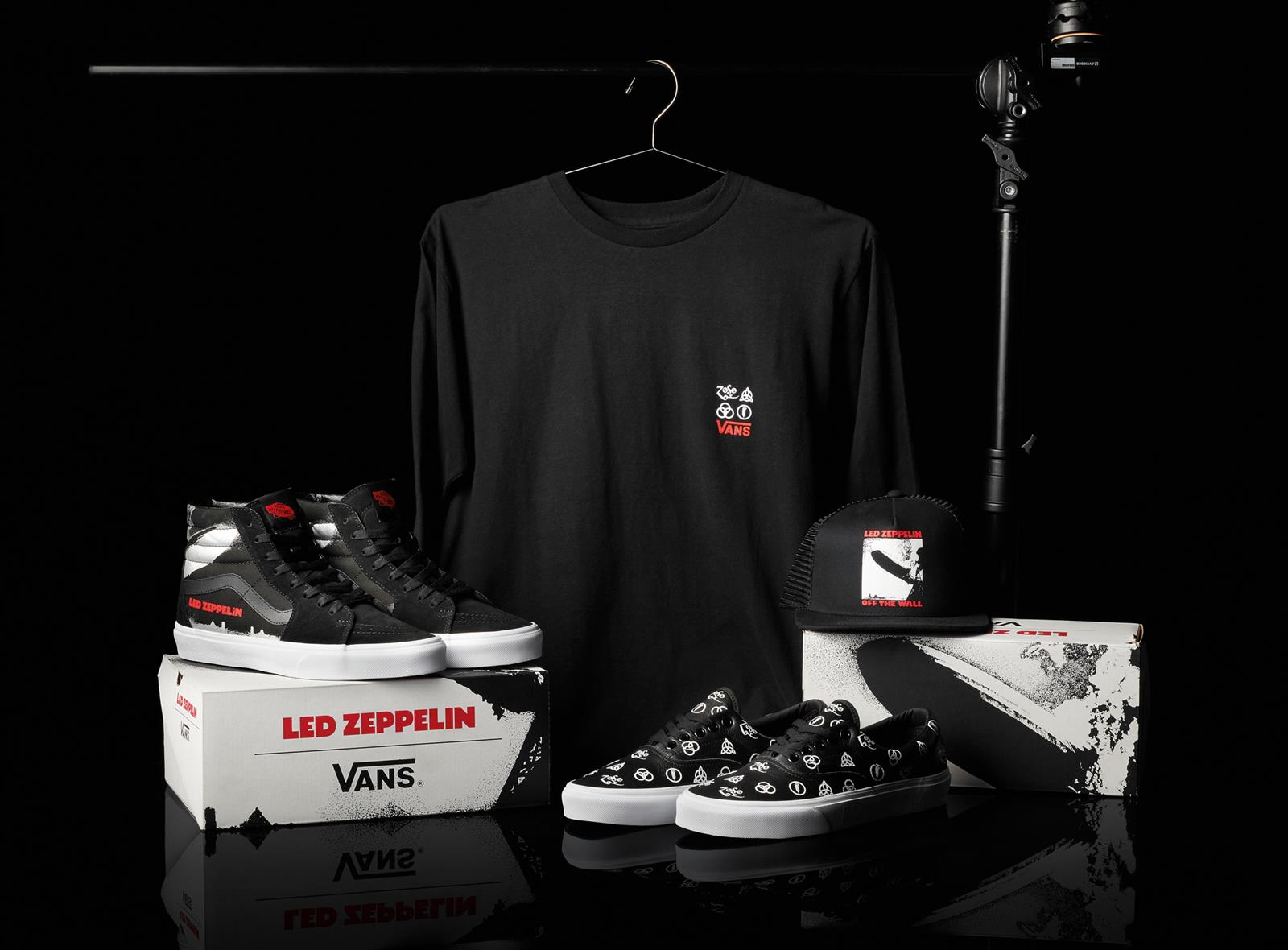 vans scarpe led zeppelin capsule collection