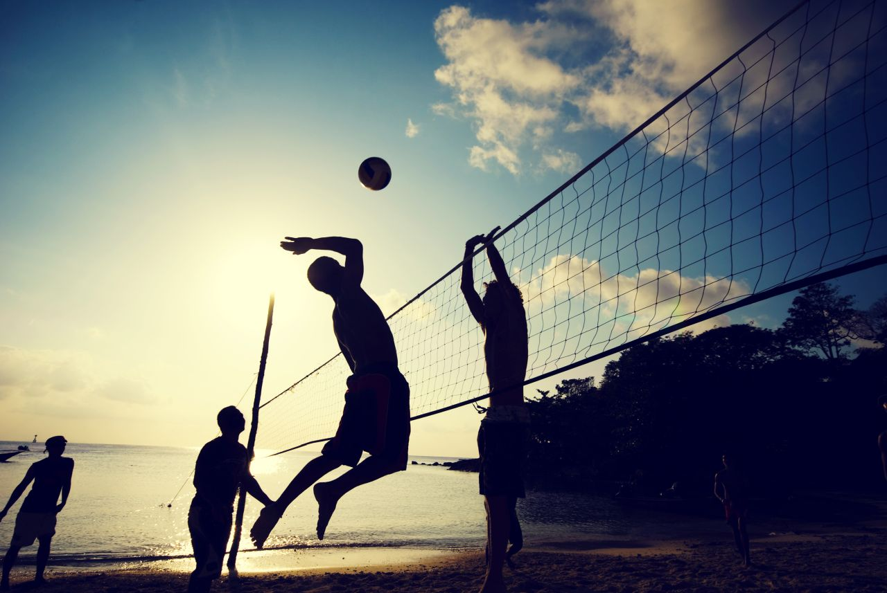 EA7 sport tappe armani beach volley