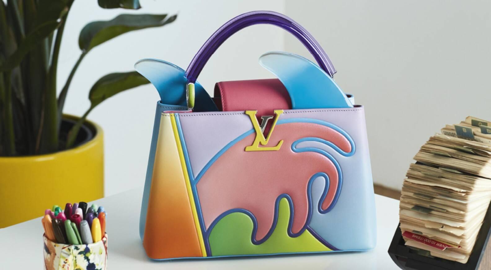 borsa colorata louis vuitton