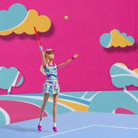 barbie gioca a tennis sergio tacchini completo bimba