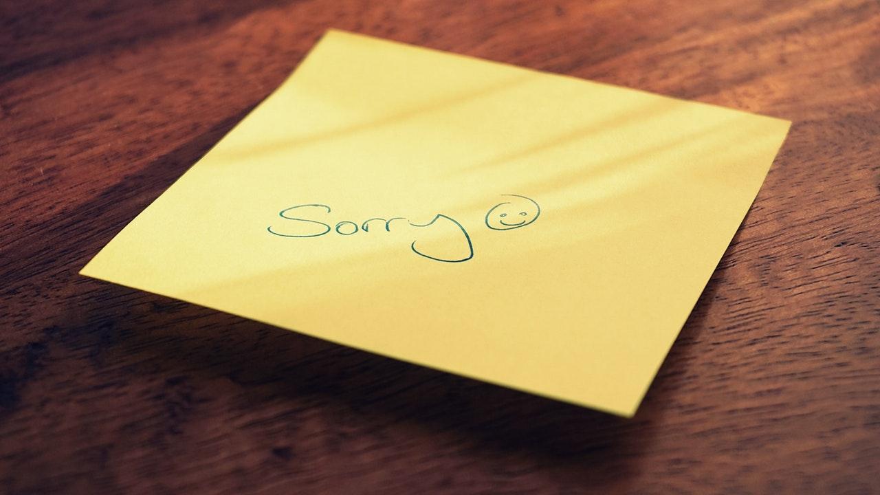 chiedere perdono
