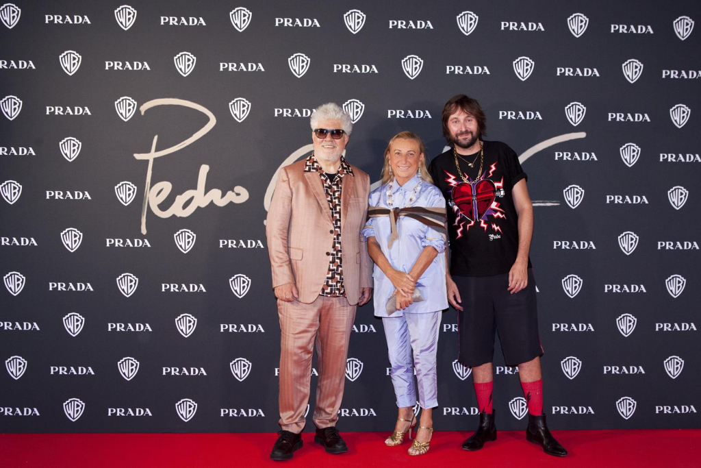 Pedro Almodóvar, Miuccia Prada, Francesco Vezzoli