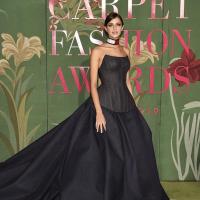 Benedetta Porcaroli green carpet award tommy hifilger