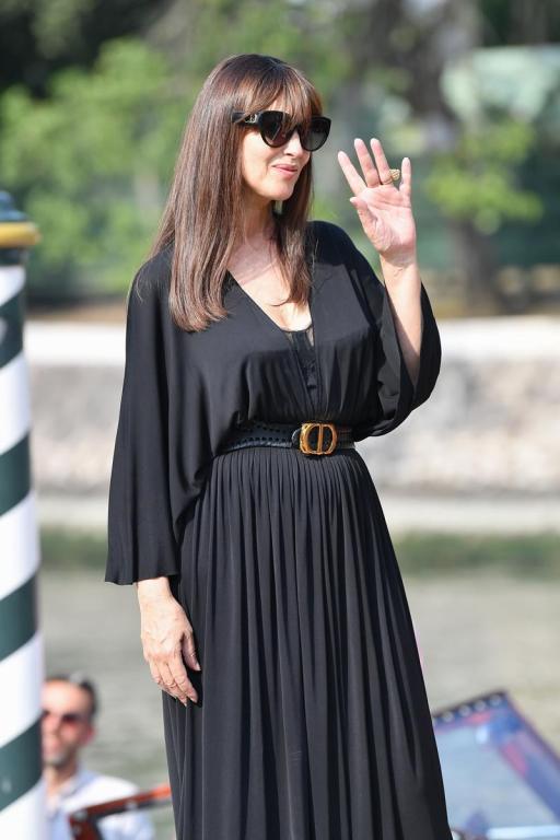 Monica Bellucci con occhiali Dior