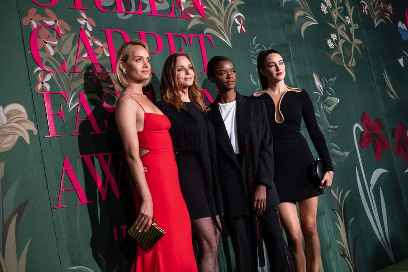 stella mccartney green carpet fashion awards