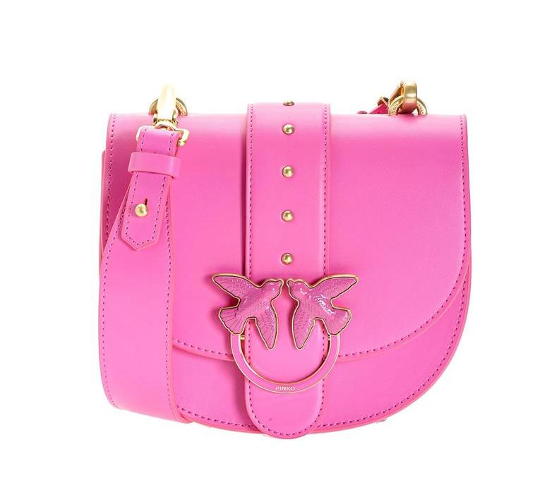 pinko round love bag