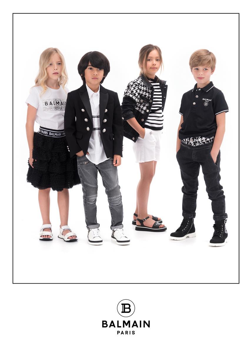 Balmain Paris Kids Spring-Summer 2020