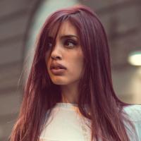 colorazione capelli rosso mogano scuro