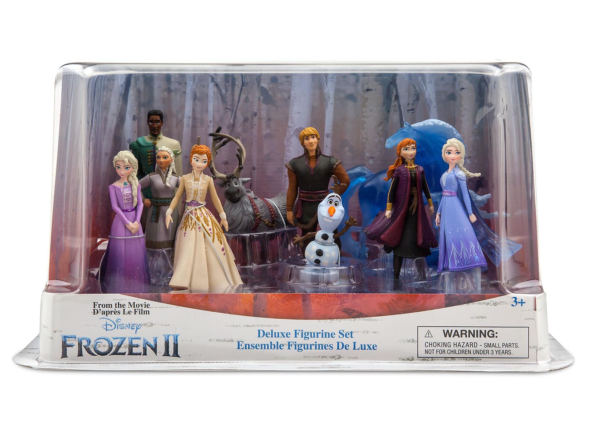 set personaggi frozen 2