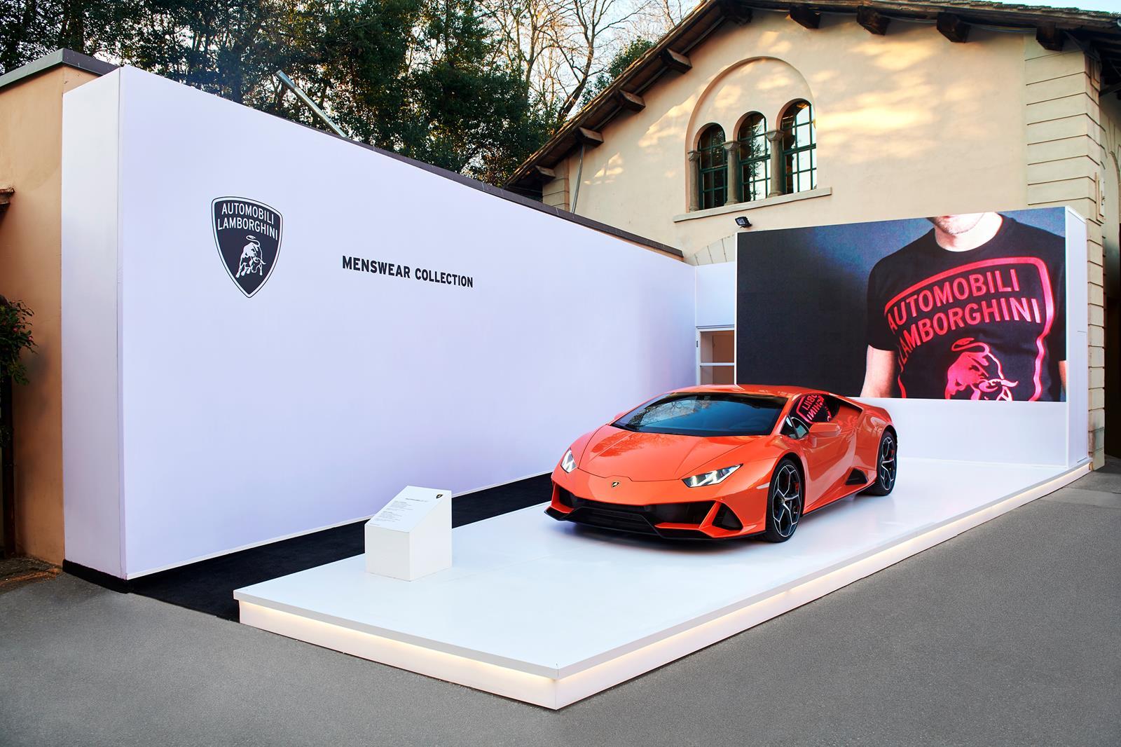 Automobili Lamborghini Menswear Collection @Pitti97