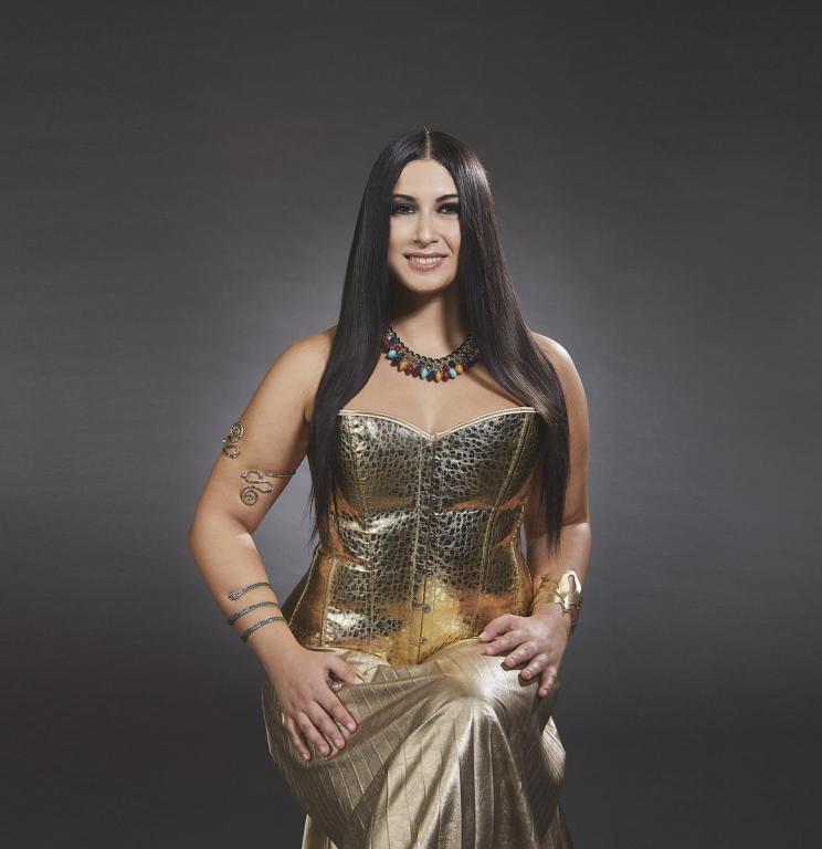 Camilla Antonaroli interpreta Cleopatra
