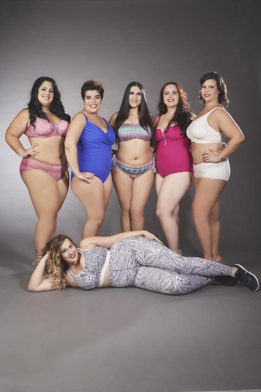 Le modelle curvy per Anita Moda
