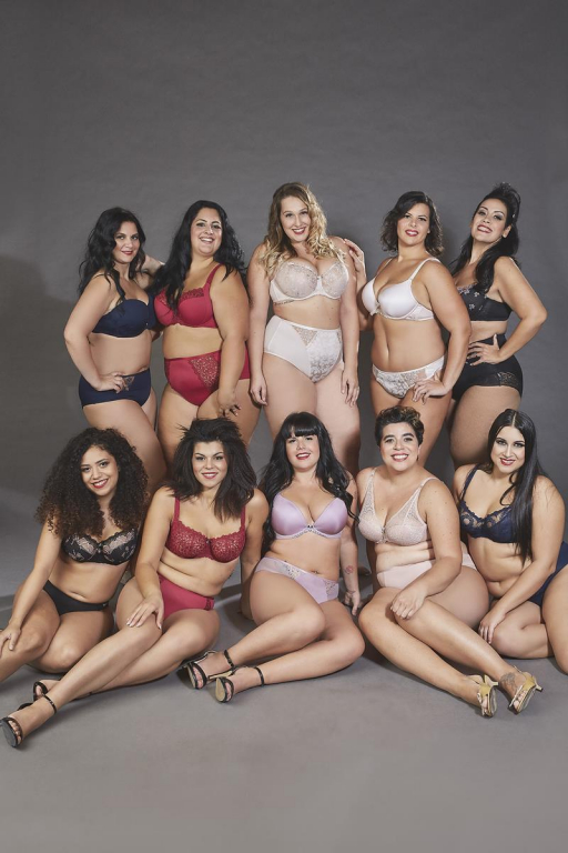 Le modelle curvy per Krisline