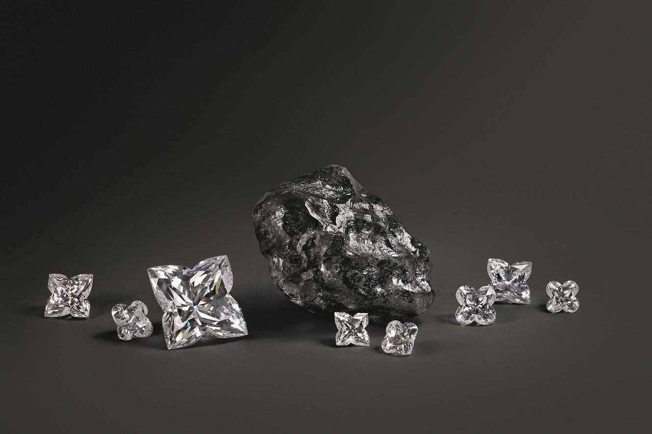 diamante grezzo louis vuitton