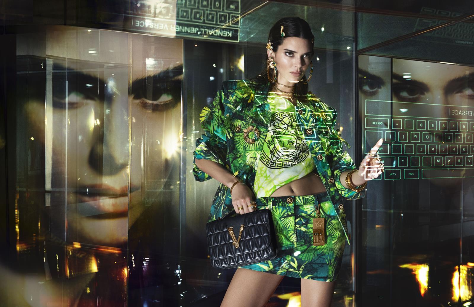 jungle dress versace