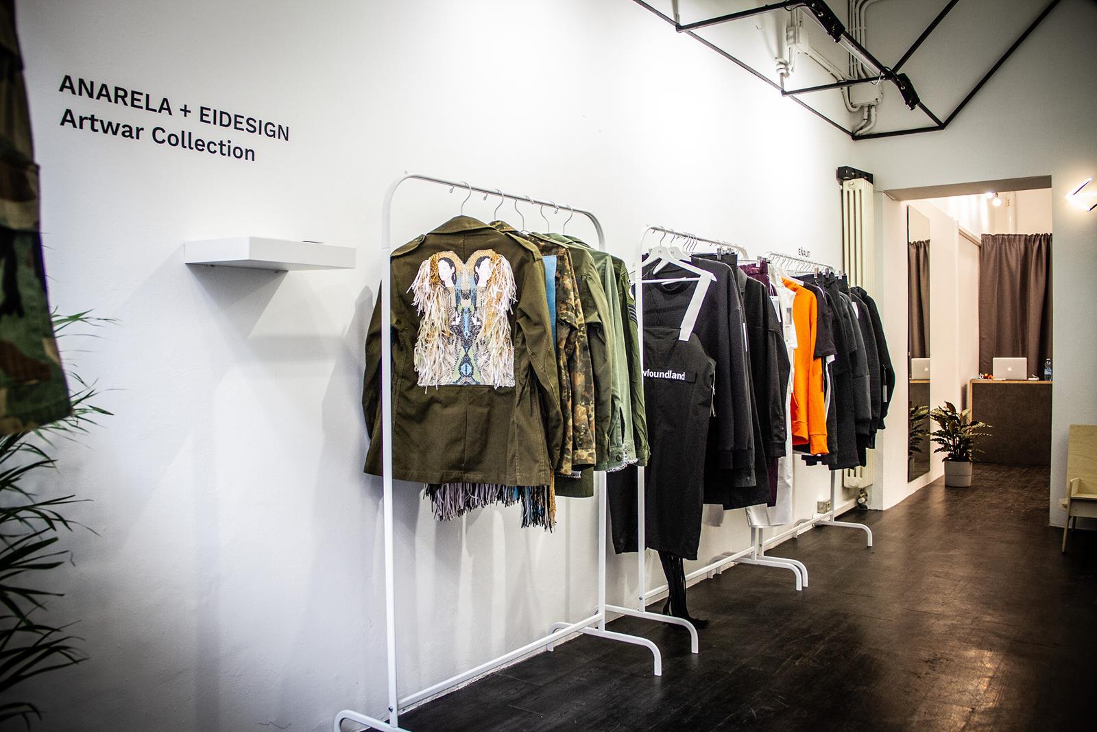 milan fashion club pop up store