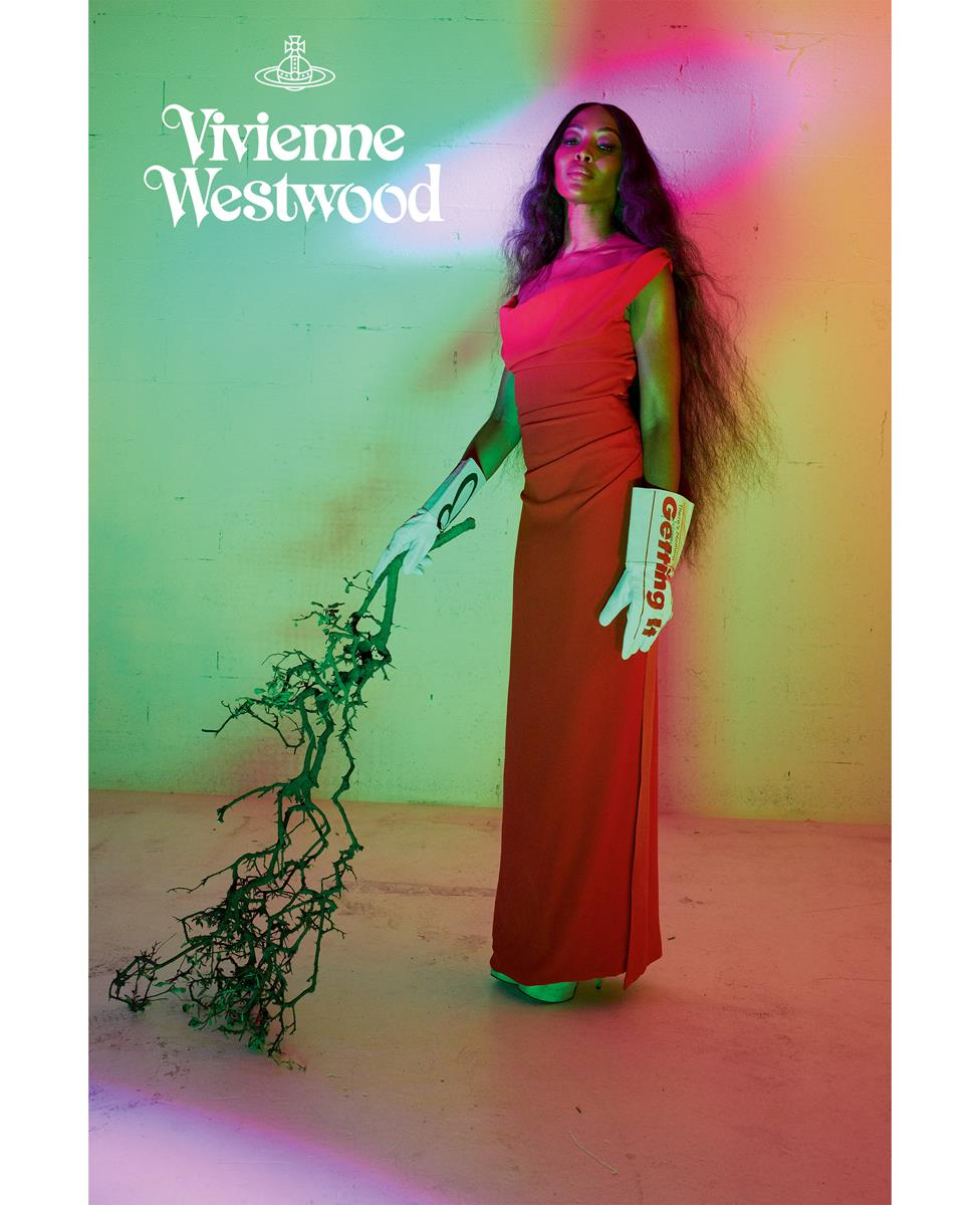 naomi campbell vivienne westwood campaign spring summer 2020
