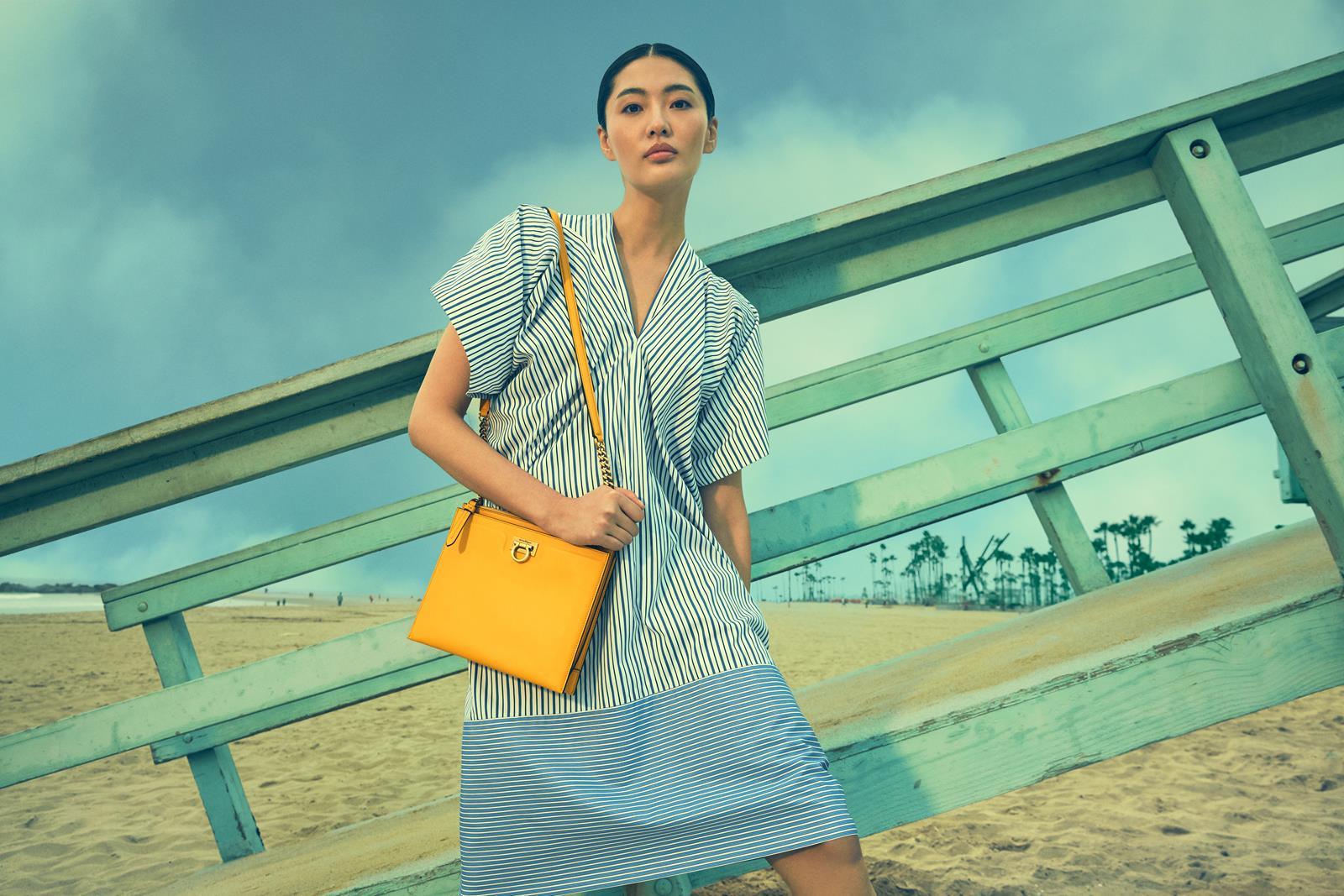 Bonnie Chen Ferragamo borsa Trifolio
