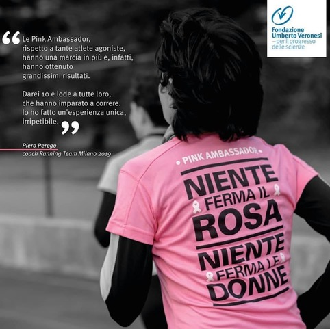 pink runner