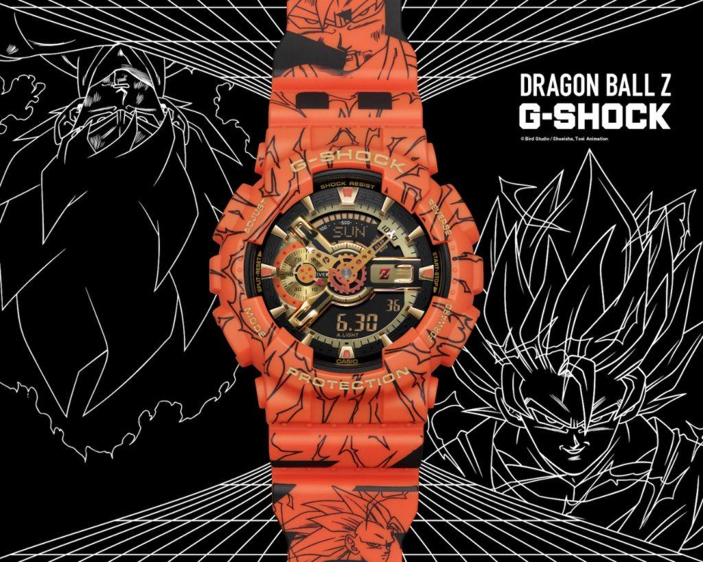 orologio dragon ball z g-shock special edition