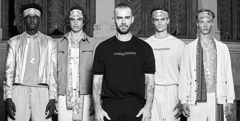 fashion designer turco serdar milano fashion week