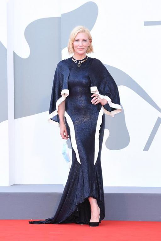 Cate Blanchett con gioielli Pomellato (Getty Images)