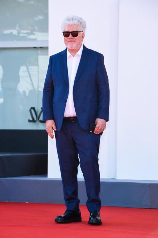 Pedro Almodóvar in Giorgio Armani (ph: Stefano Guindani - SGP)