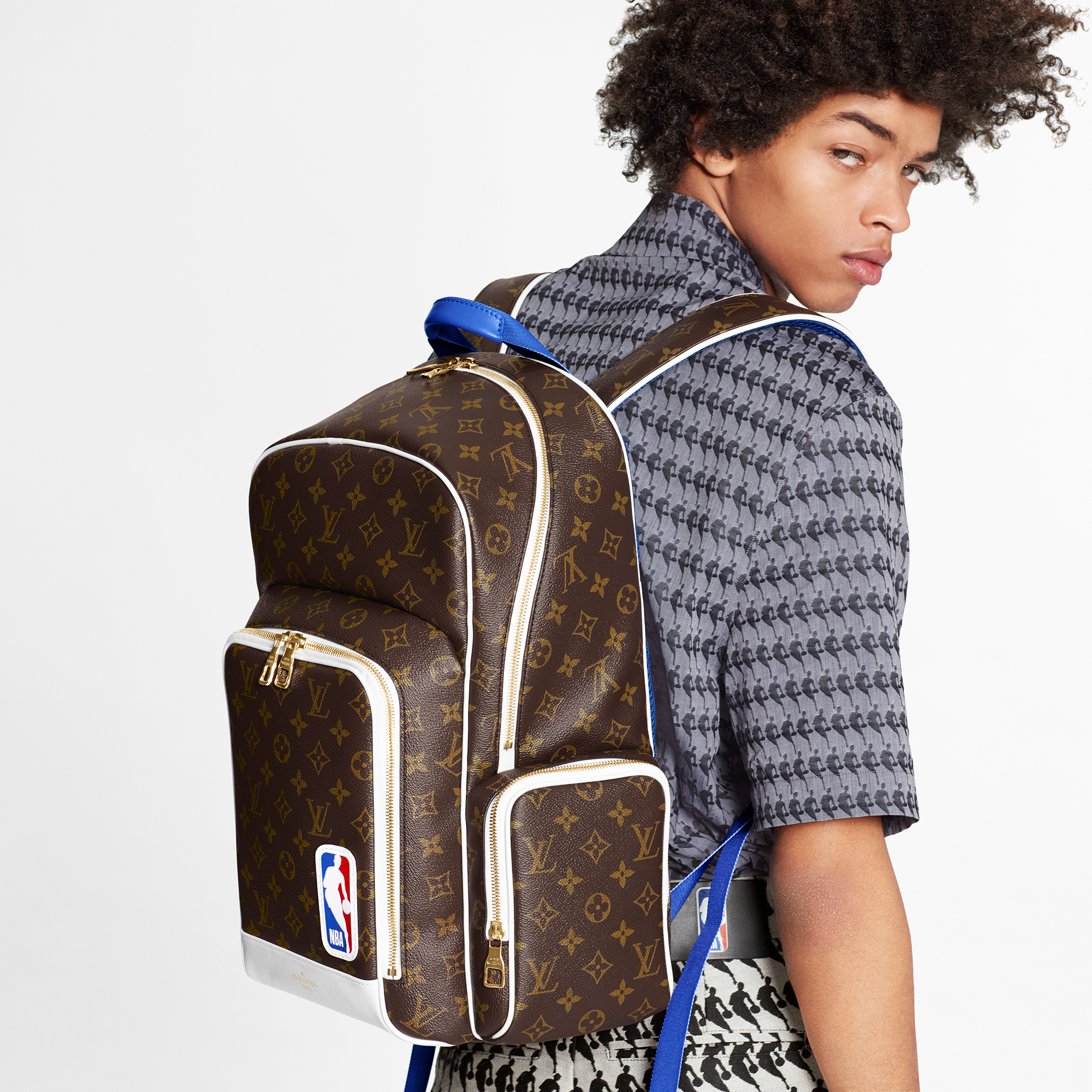 louis vuitton capsule collection nba