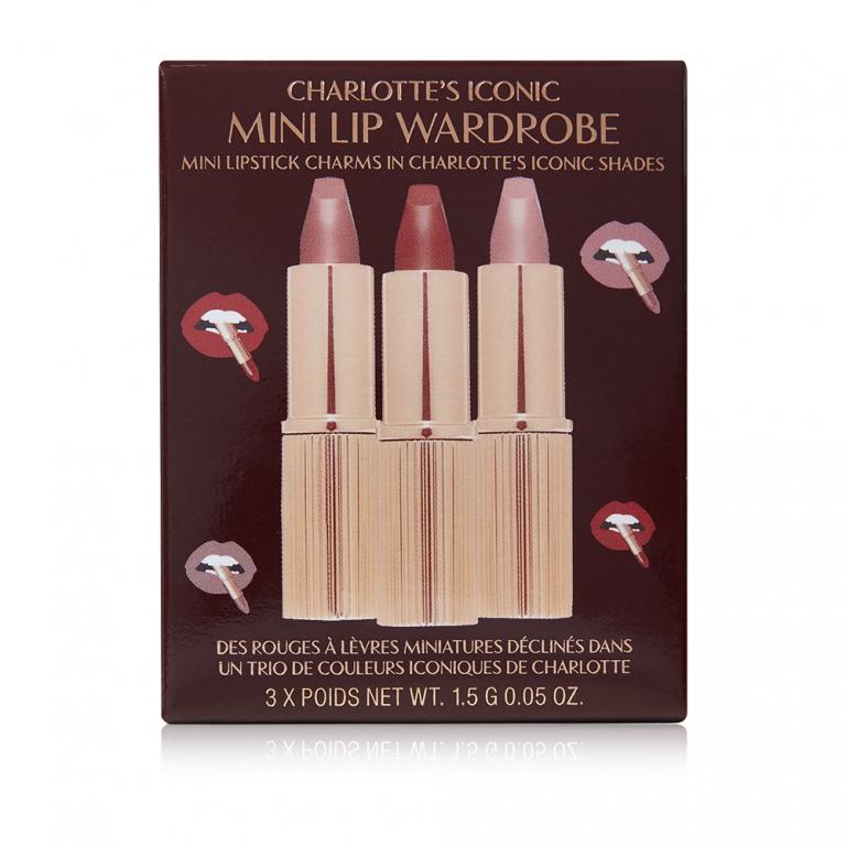Charlotte's Iconic Mini Lip Wardrobe 30 euro