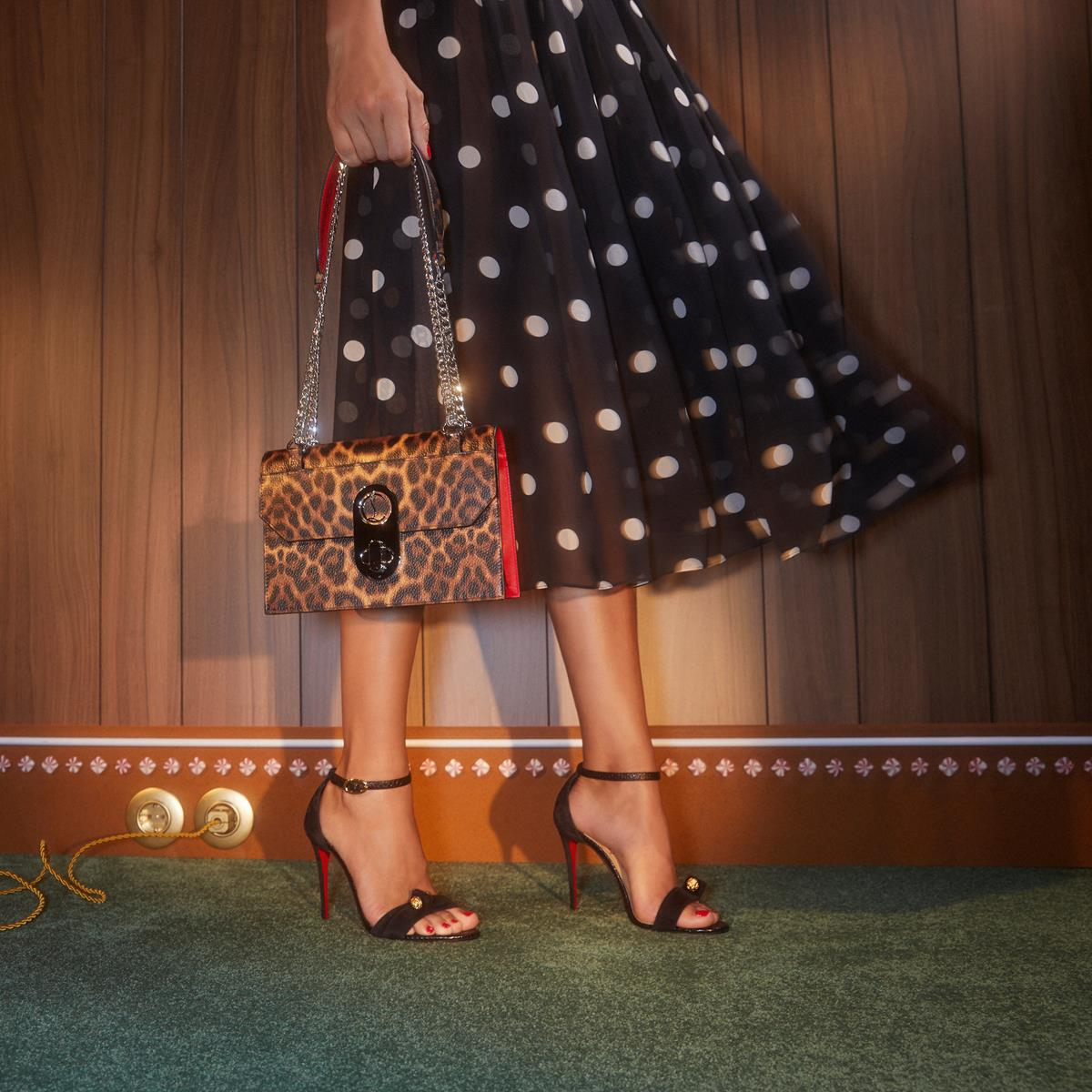 christian louboutin christmas campaing shoes accessories