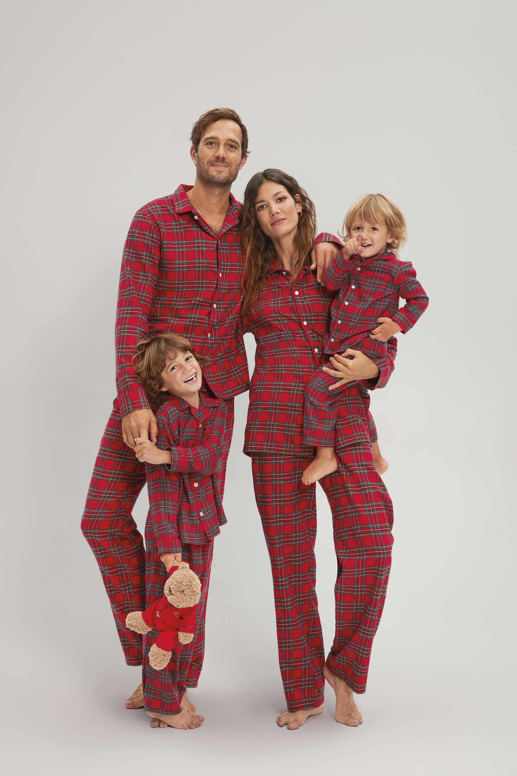 pigiami coordinati tartan scozzese gap
