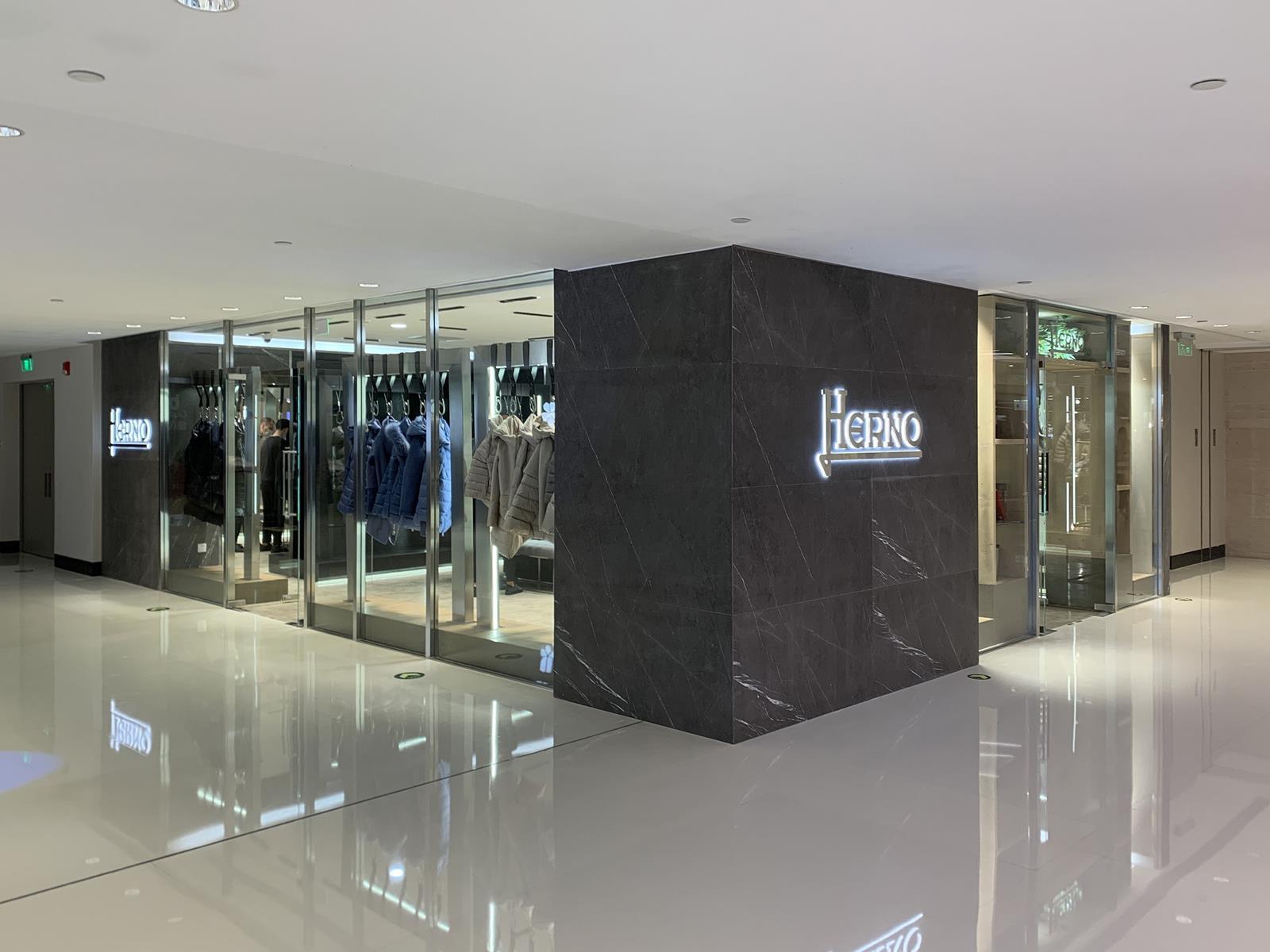 herno store shanghai pechino e-commerce foto