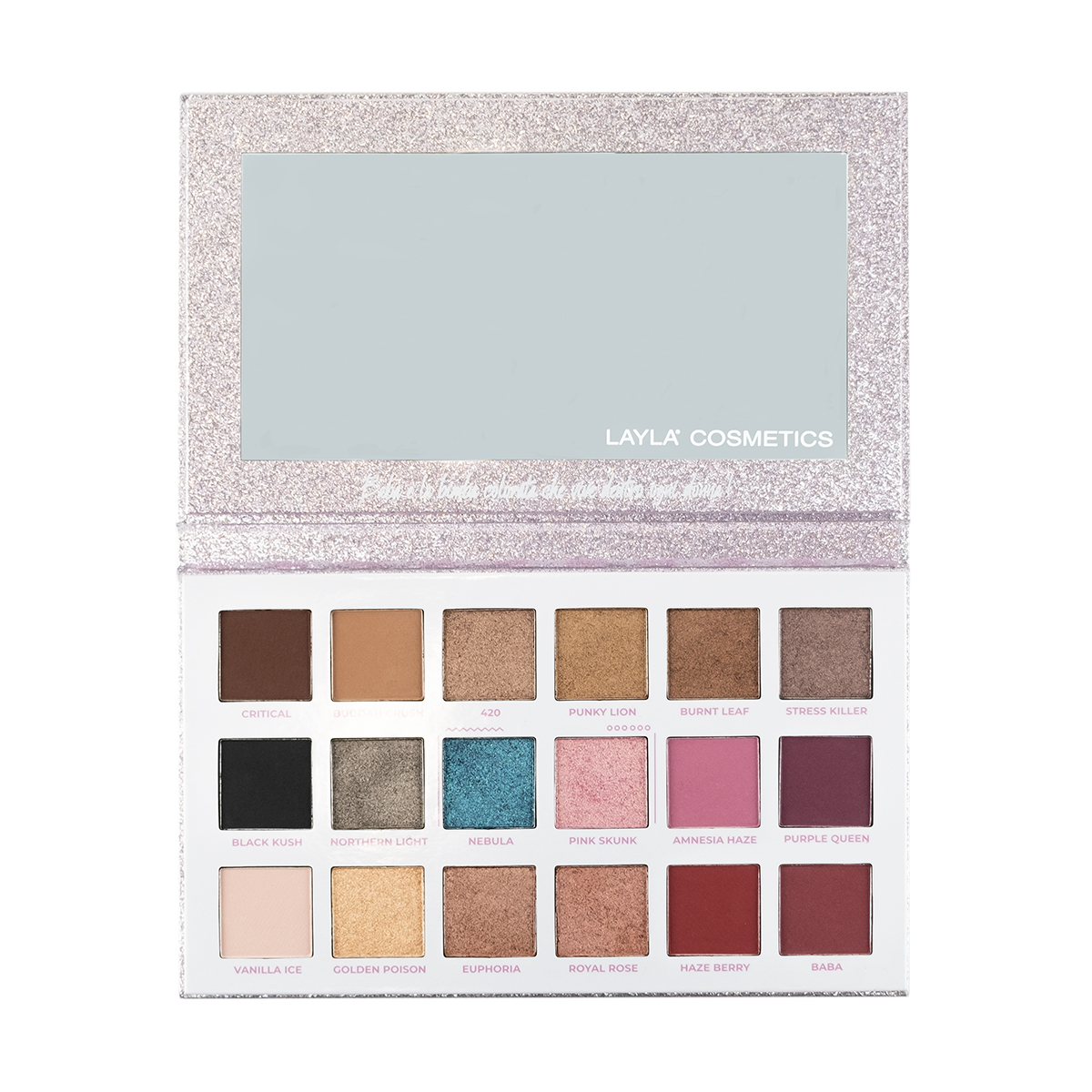layla cosmetics palette baba