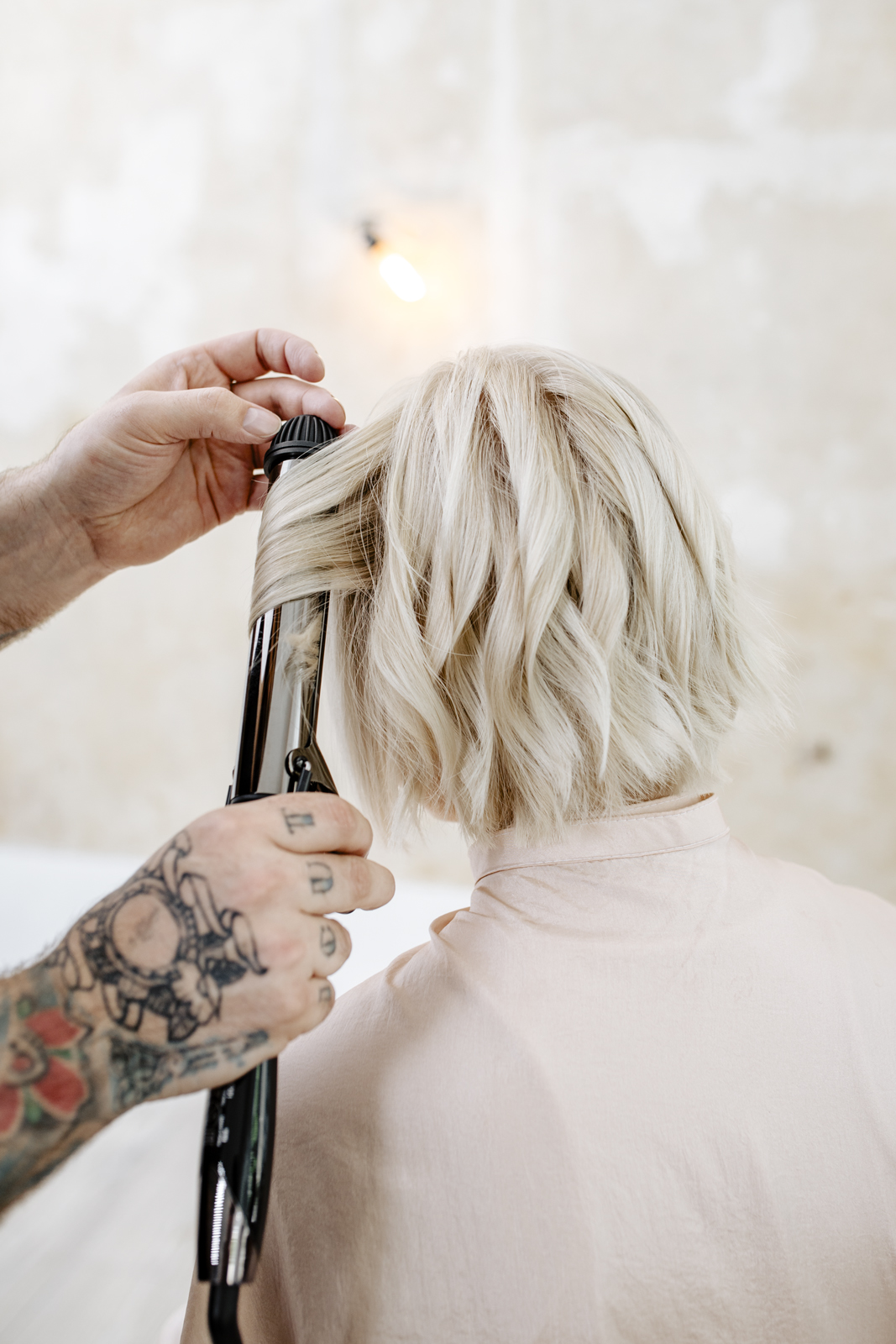 long bob mosso step by step