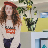 ganni levi's capsule collection canapa cotonizzata