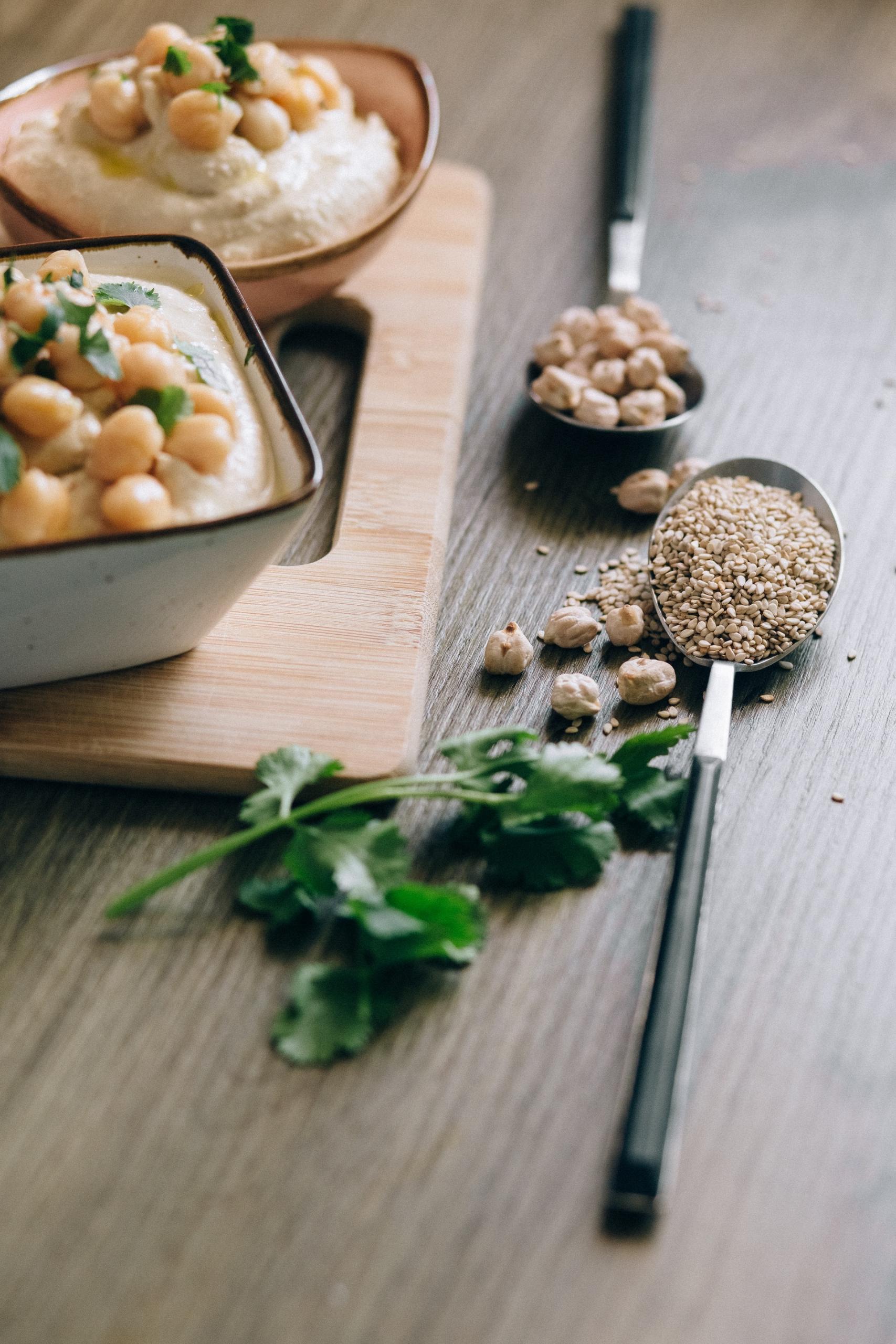 humus di ceci ricetta originale vegana